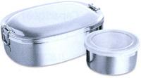 Круглый контейнер для еды 16 см – без внутренней коробки